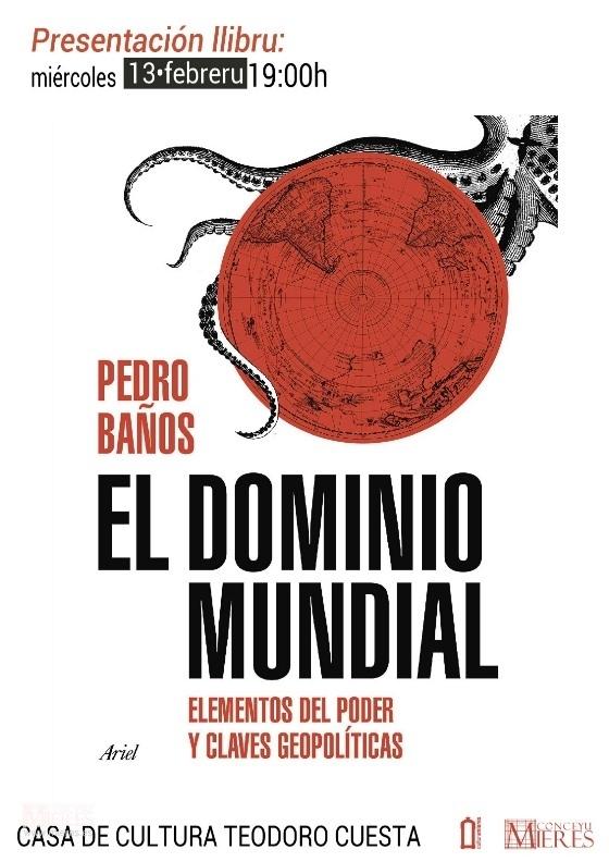 Cartel Web Presentacion Libro El DOMINIOmundial
