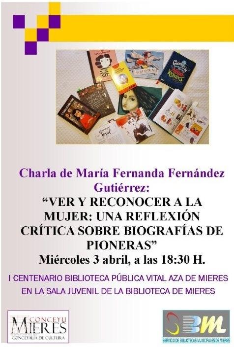 Charla Mª Fernanda