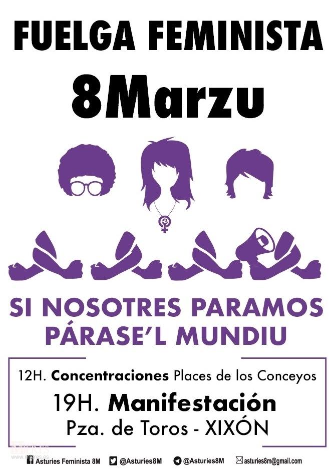 Huelga 8 De Marzo