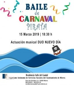 Cartel Web Baile Carnaval Pirata 2019