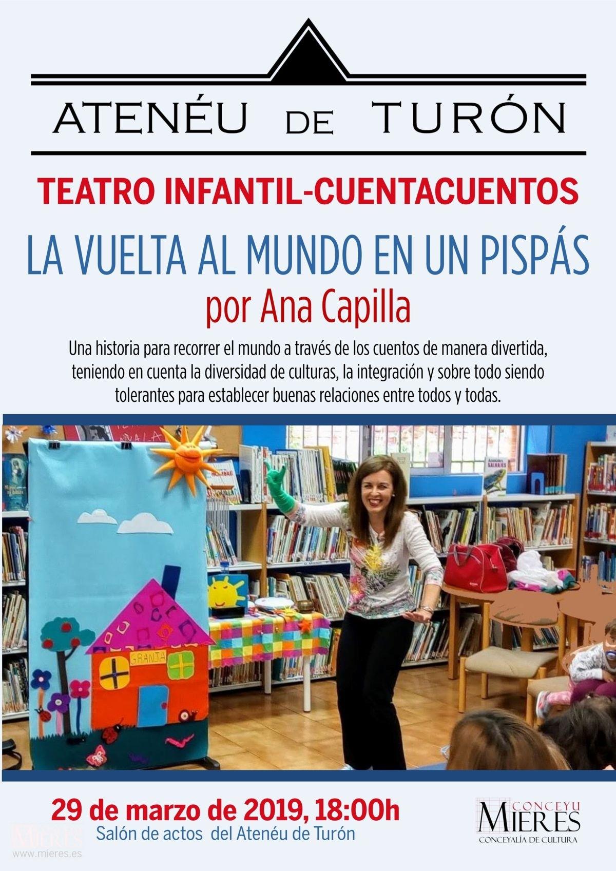 Cartel Web Teatro Ana Capilla Turón Marzo 2019