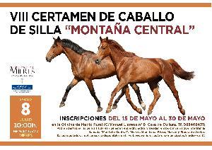 Cartel Web Certamen De Caballo De Silla Montaña Central 2019