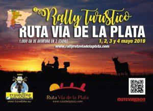 Cartel Web Rallye Tursitico Via De La Plata Mieres