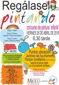 Cartel Web Regalaselo Pintando2019