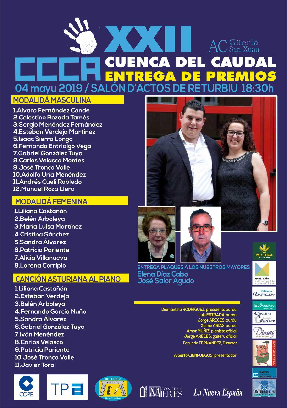 ENTREGA PREMIOS RIOTURBIO 2019