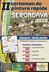 Cartel Web Certamen Pintura Rapida Serondaya 2019