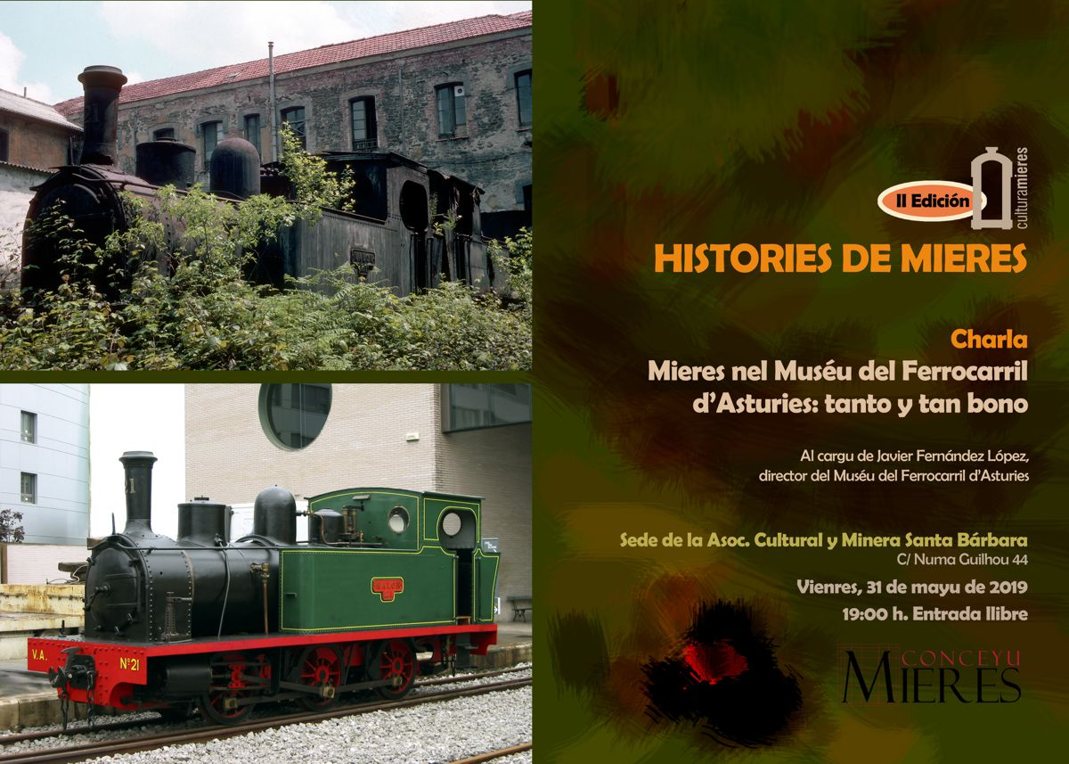 Cartel Web Histories De Mieres Charla MUFE