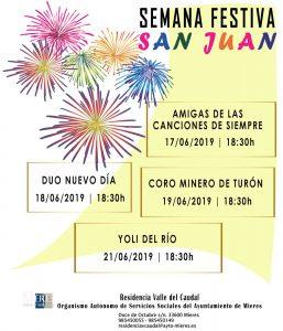 Cartel Web Semana Festiva San Juan 2019