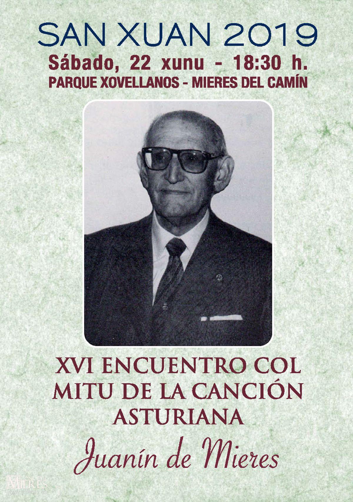 Encuentro Juanin De Mieres Cancion Asturiana 2019