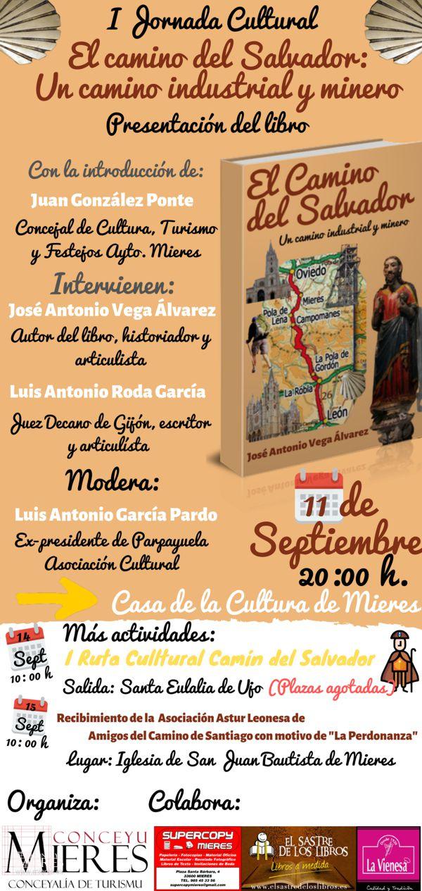 Cartel Web Presentacion Libro Camino Del Salvador