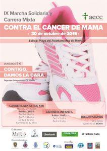 Cartel Web Carrera Cancer De Mama 2019