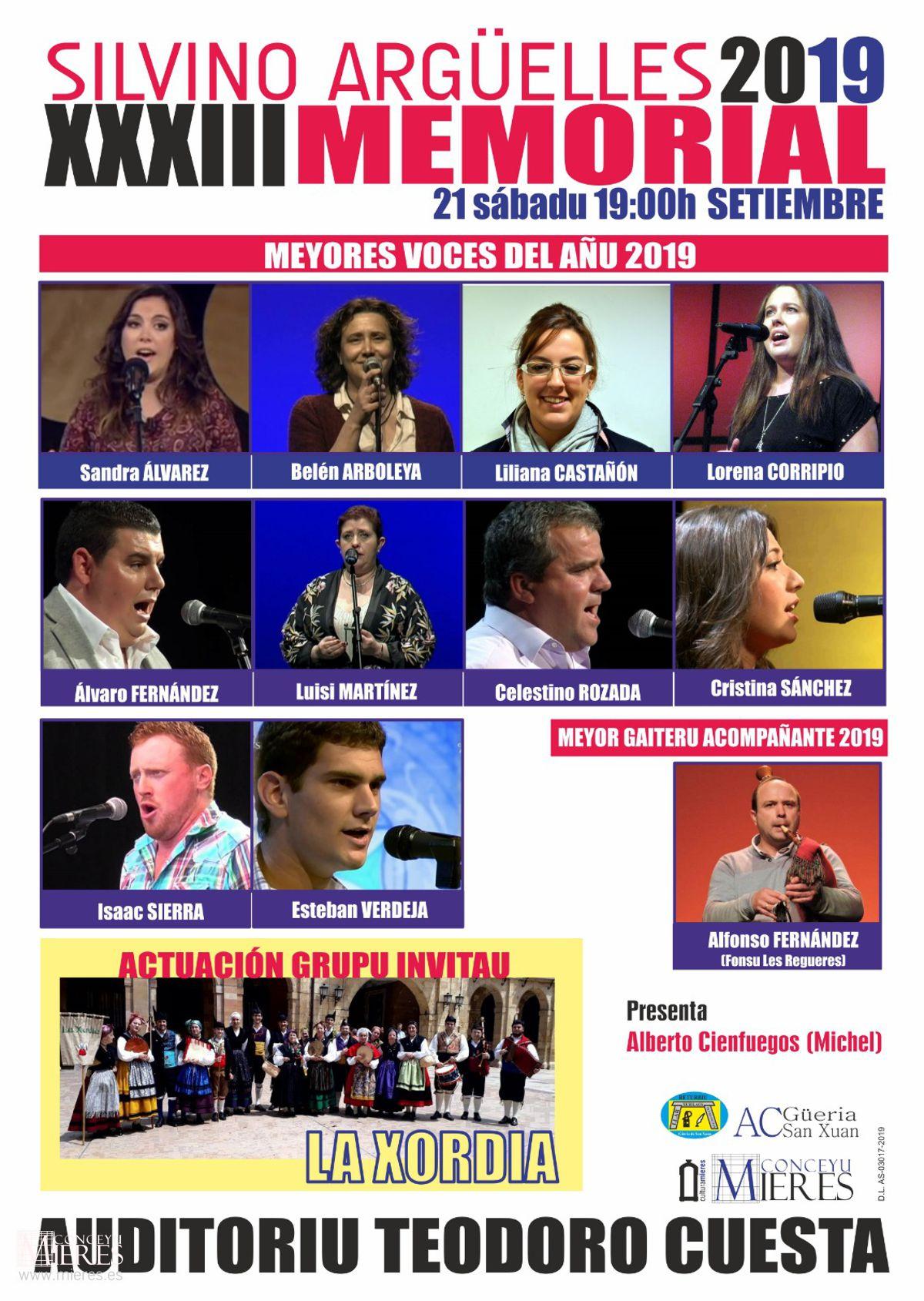 Cartel Web Memorial Silvino Arguelles 2019