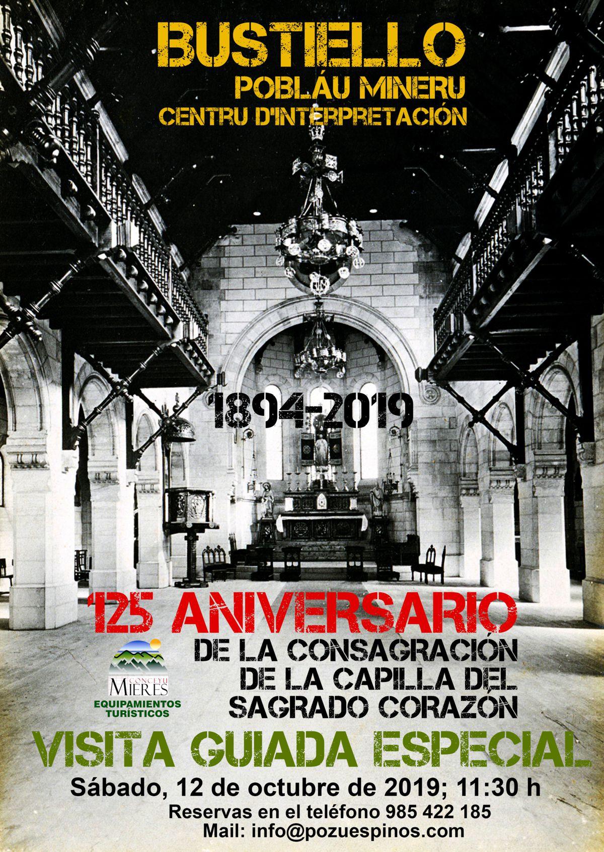 Cartel Web 125 Ainversario Iglesia Bustiello