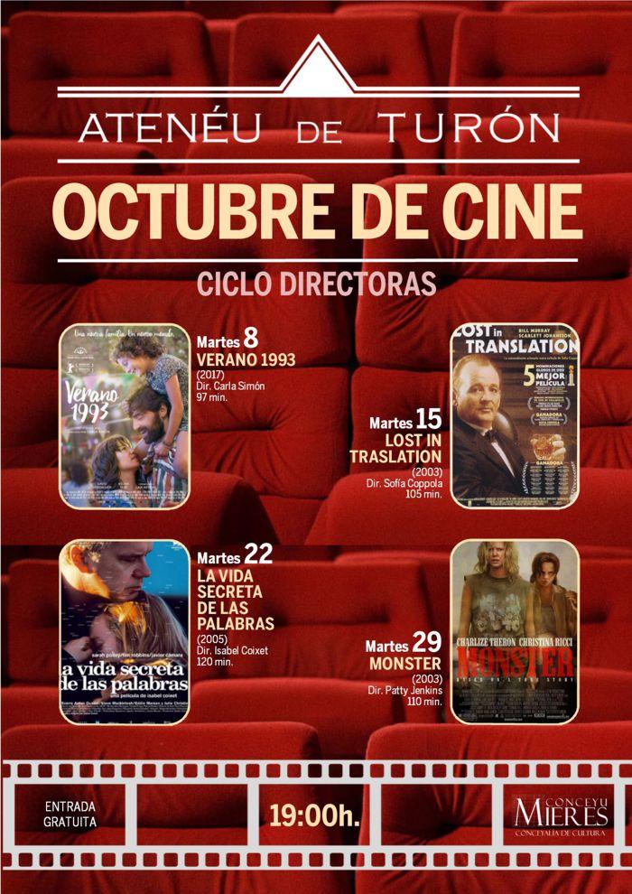 Cartel Web Cine Turón 201910