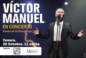 Cartel Web Concierto Victor Manuel