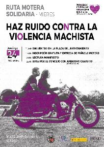 Cartel Web Marcha Motera Contra La Violencia