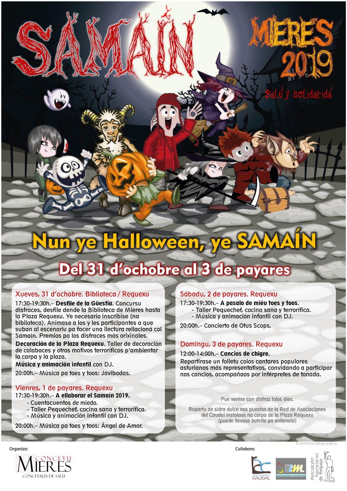 Cartel Web Samain 2019