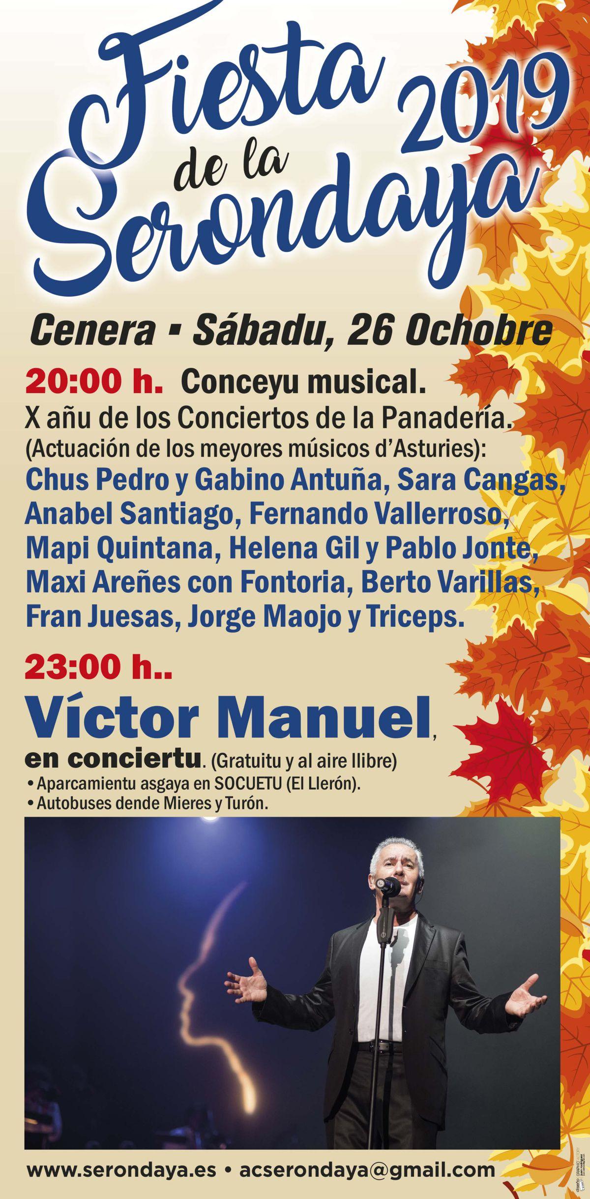 Cartel Web Serondaya Conceyu Musical