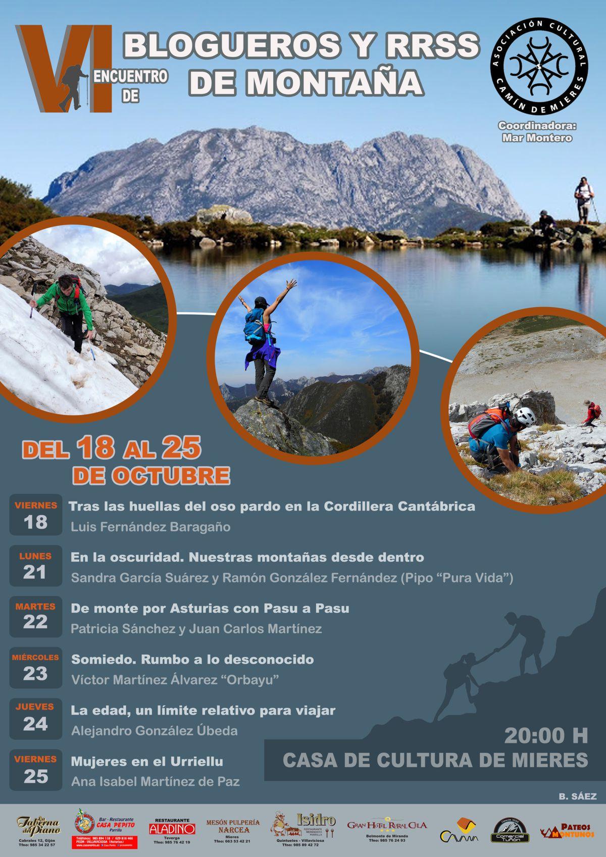 Cartel Web Jornadas Blogs Montaña