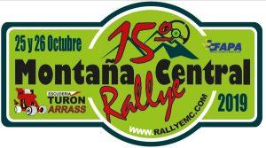 Placa Rallye Montaña Central 2019