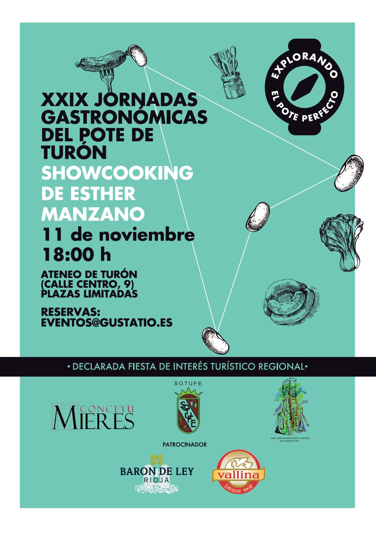Cartel Showcooking Turon 2019