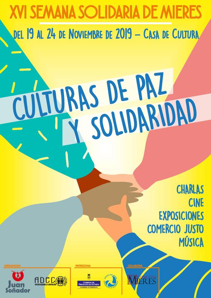 Cartel Web Semana Solidaria Mieres 2019