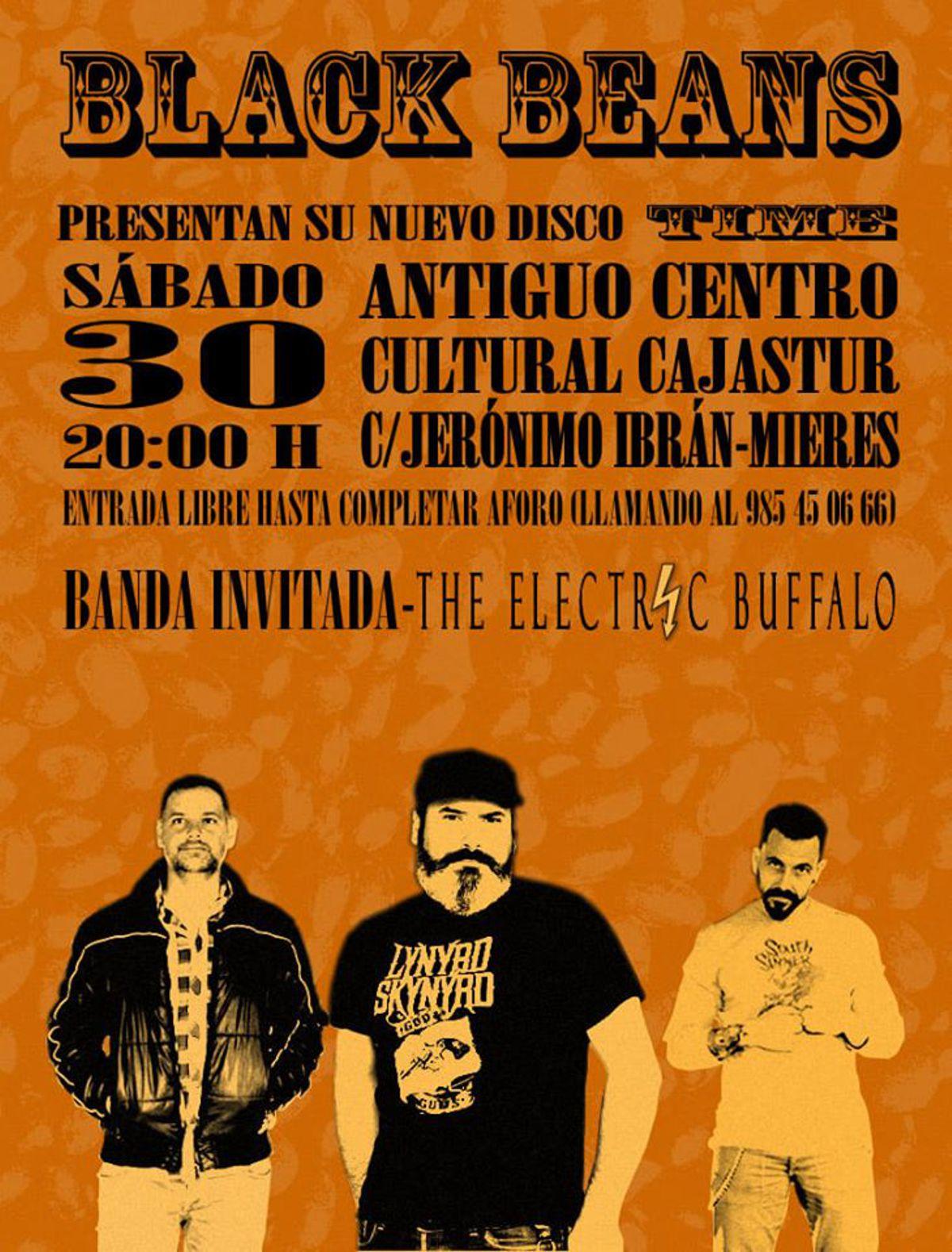 Concierto Black Beans Electric Buffalo