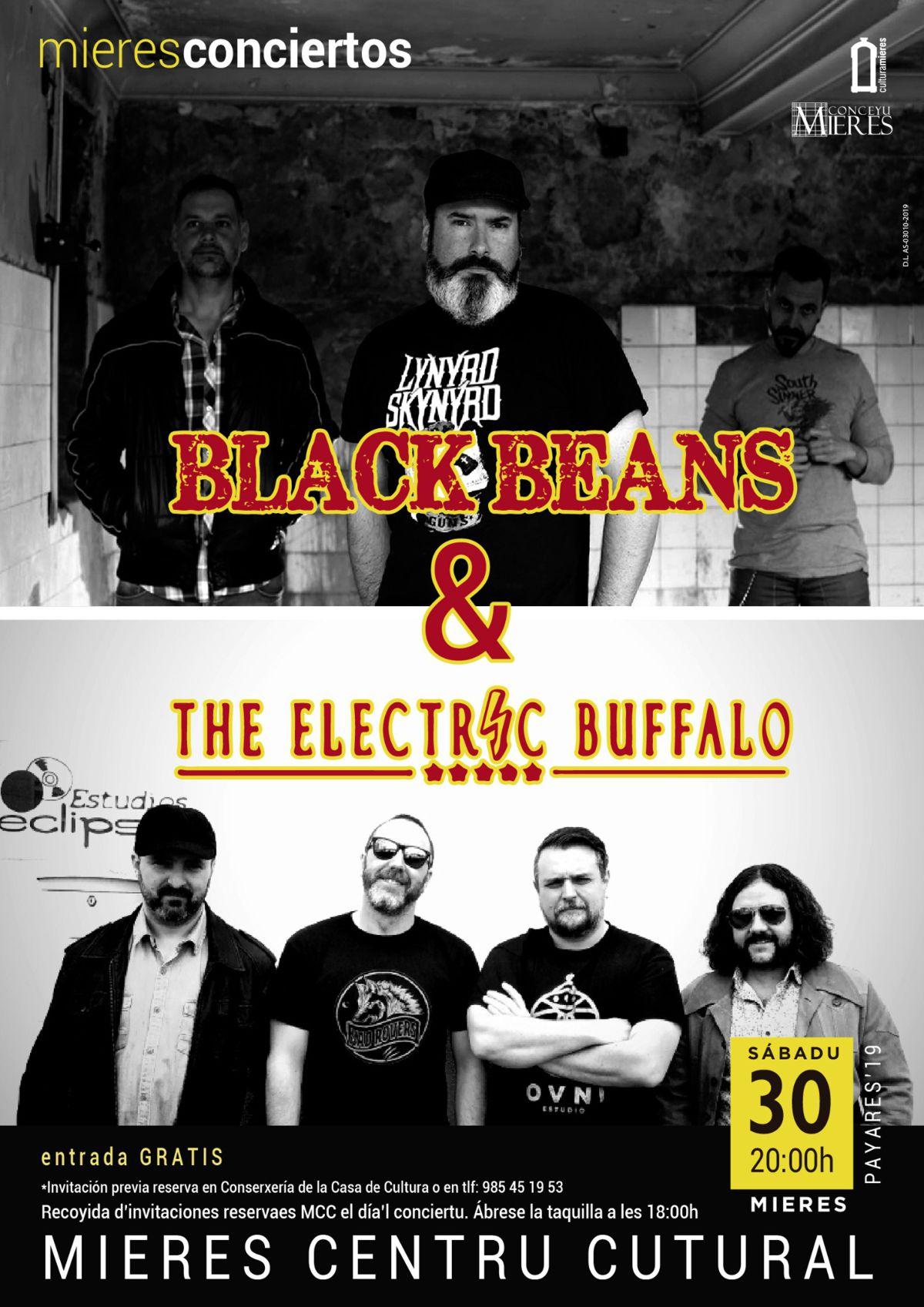 Concierto Black Beans Mieres Nov 2019
