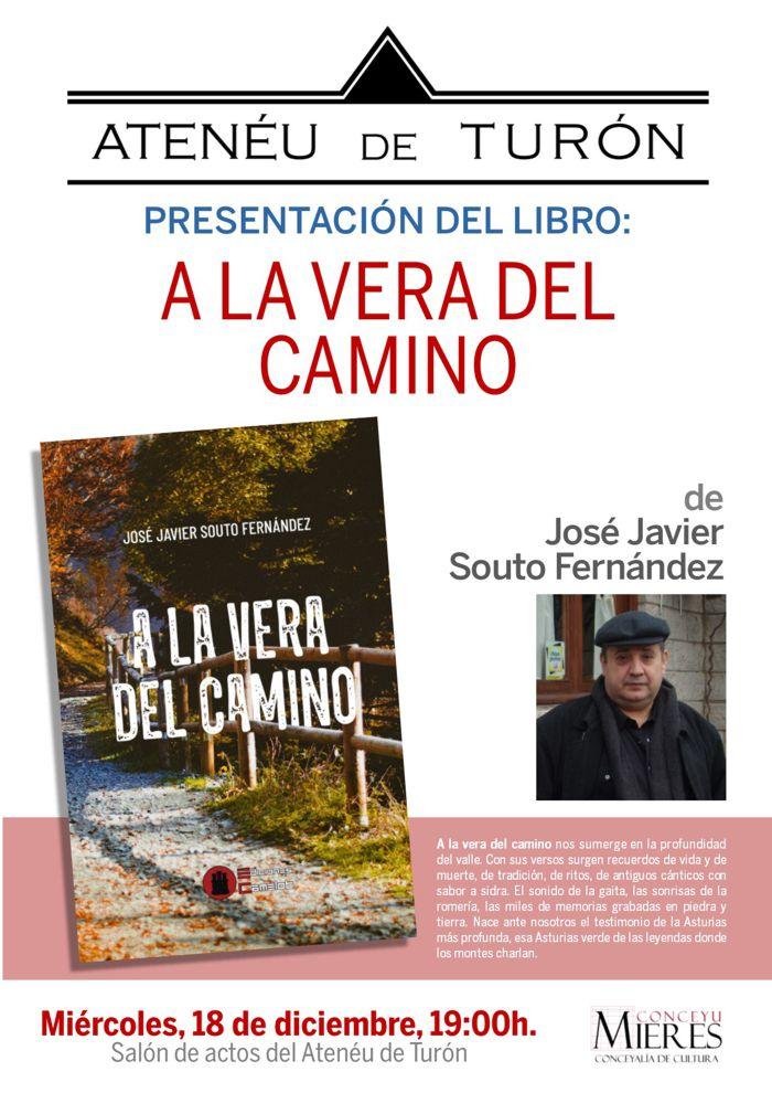 Cartel Presentacion Libro Turon A La Vera Del Camino