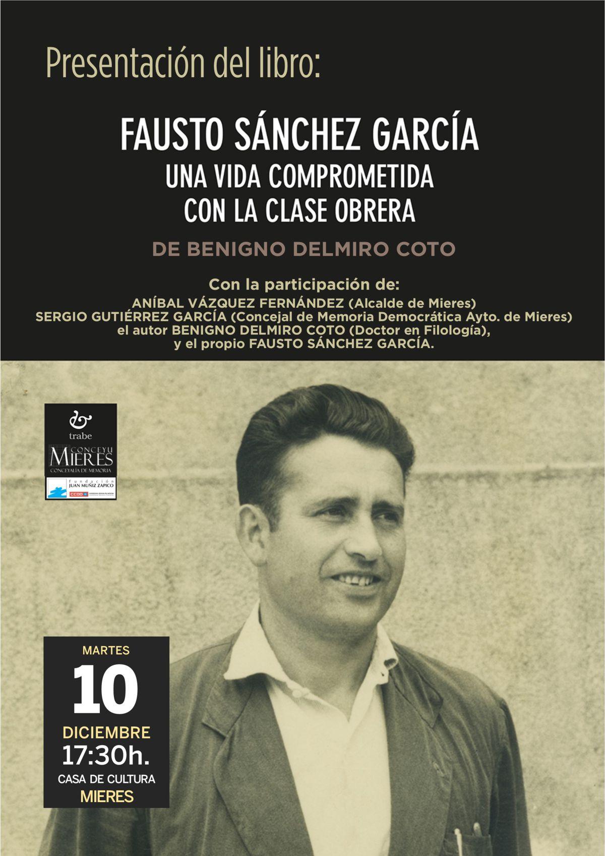 Cartel Web Presentacion Libro Fausto Sánchez