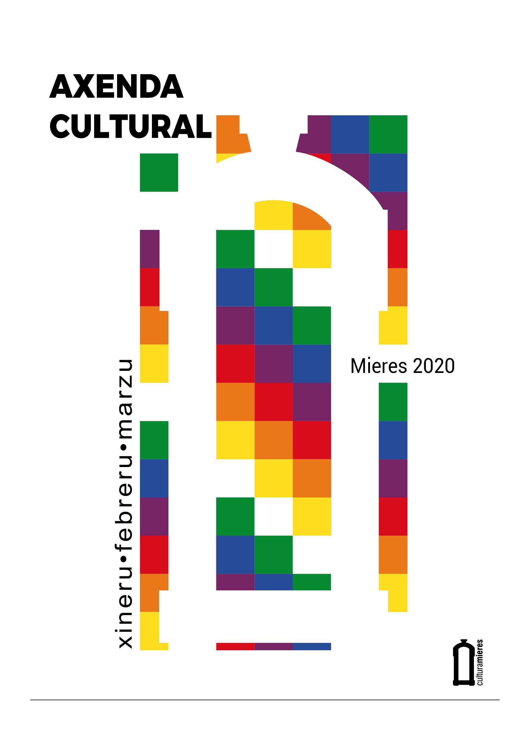 PORTADA AXENDA CULTURAL MIERES XINERU MARZU 2020 01