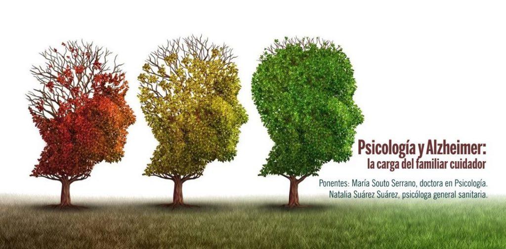 Cartel Web Charla Psicología Alzheimer