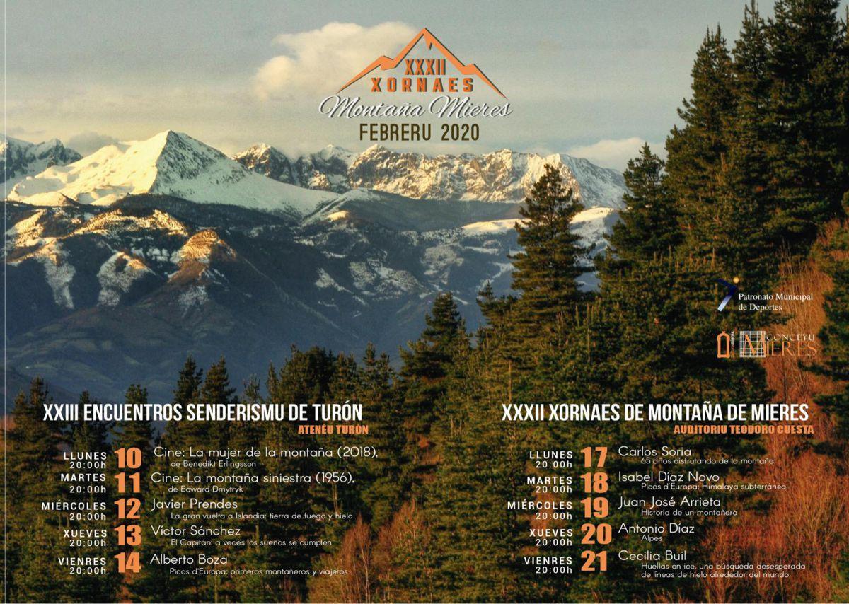 Cartel Web Jornadas Montaña 2020