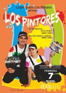 Cartel Web Teatro Los Pintores Turon