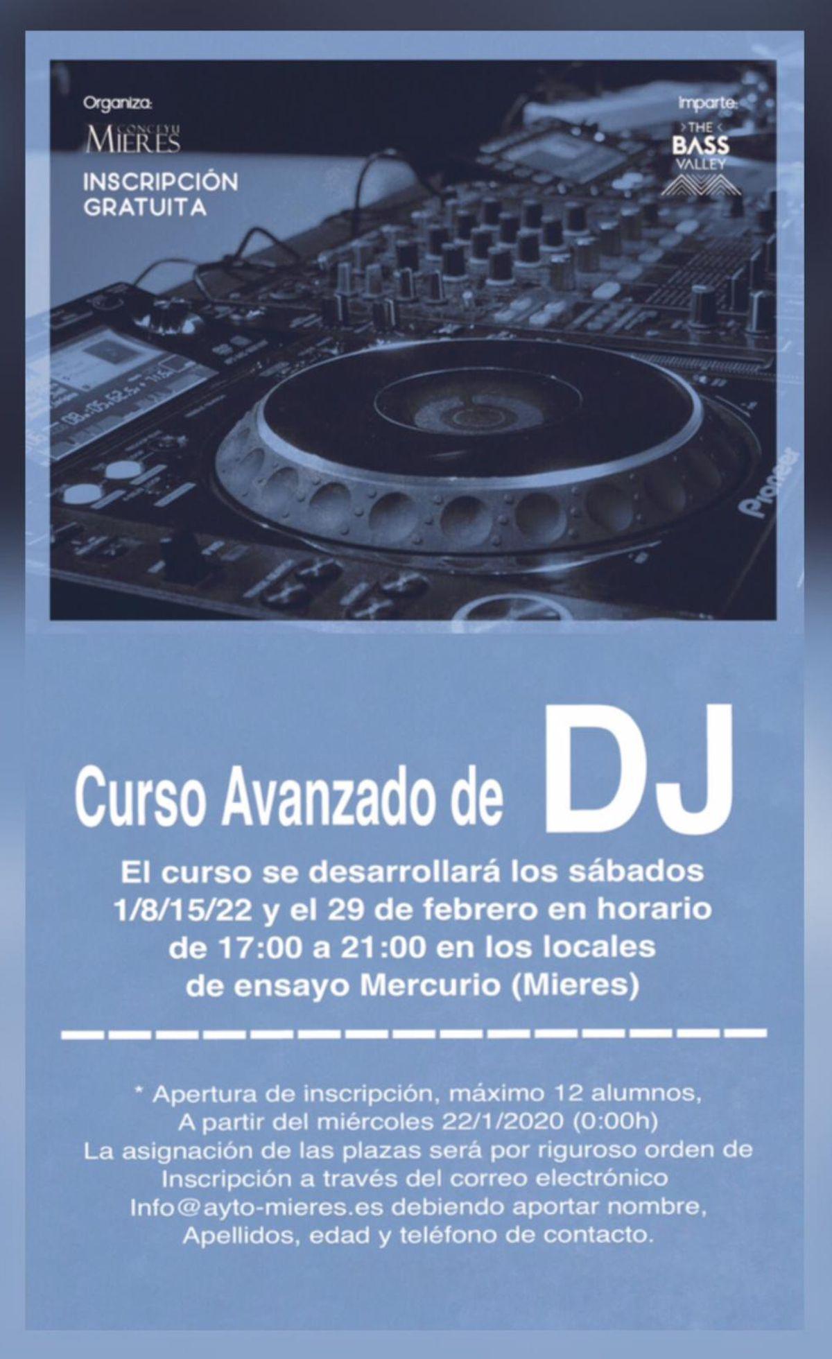 Curso Avanzado DJ 2020