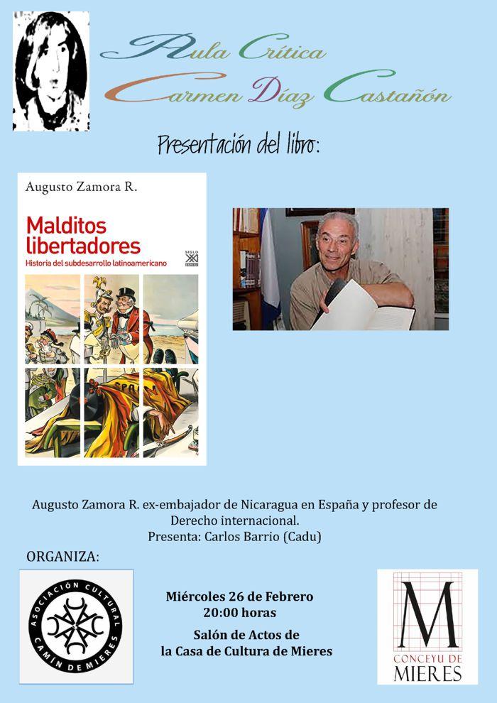 Cartel Libro Augusto Zamora Mieres