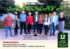 Cartel Web Concierto Teatro Turon 12 Marzo