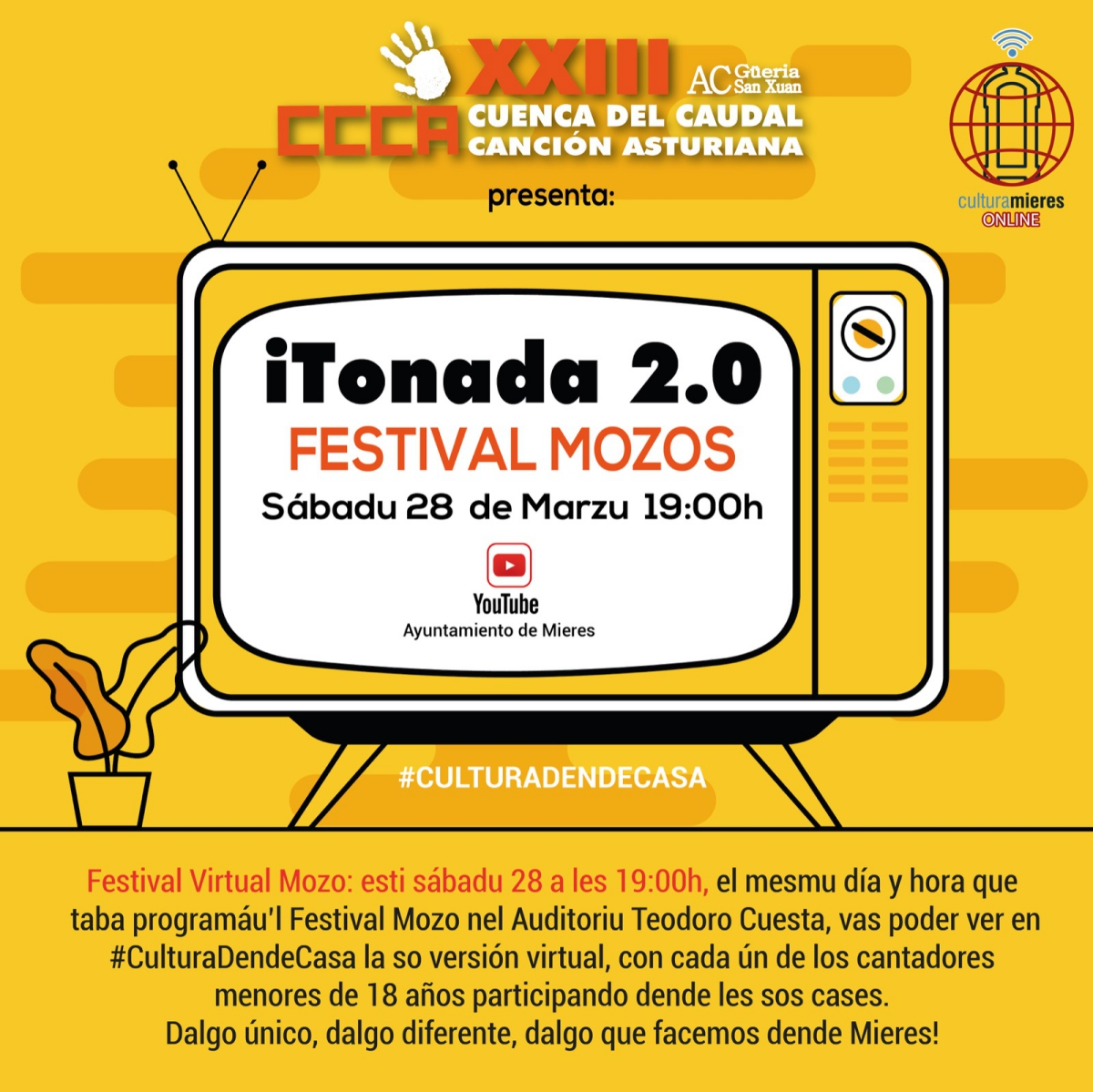 Festival Mozos Desde Casa Web
