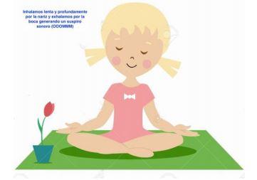 Postura Inicial Yoga Para Niños