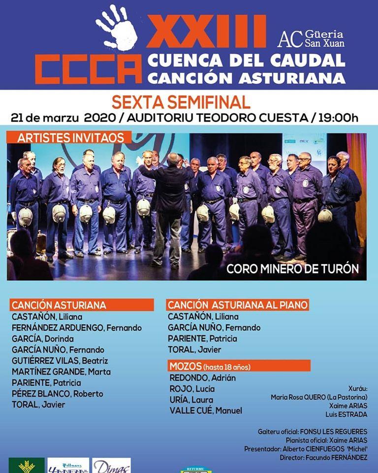 Sexta Semifinal Cuenca Del Caudal 2020