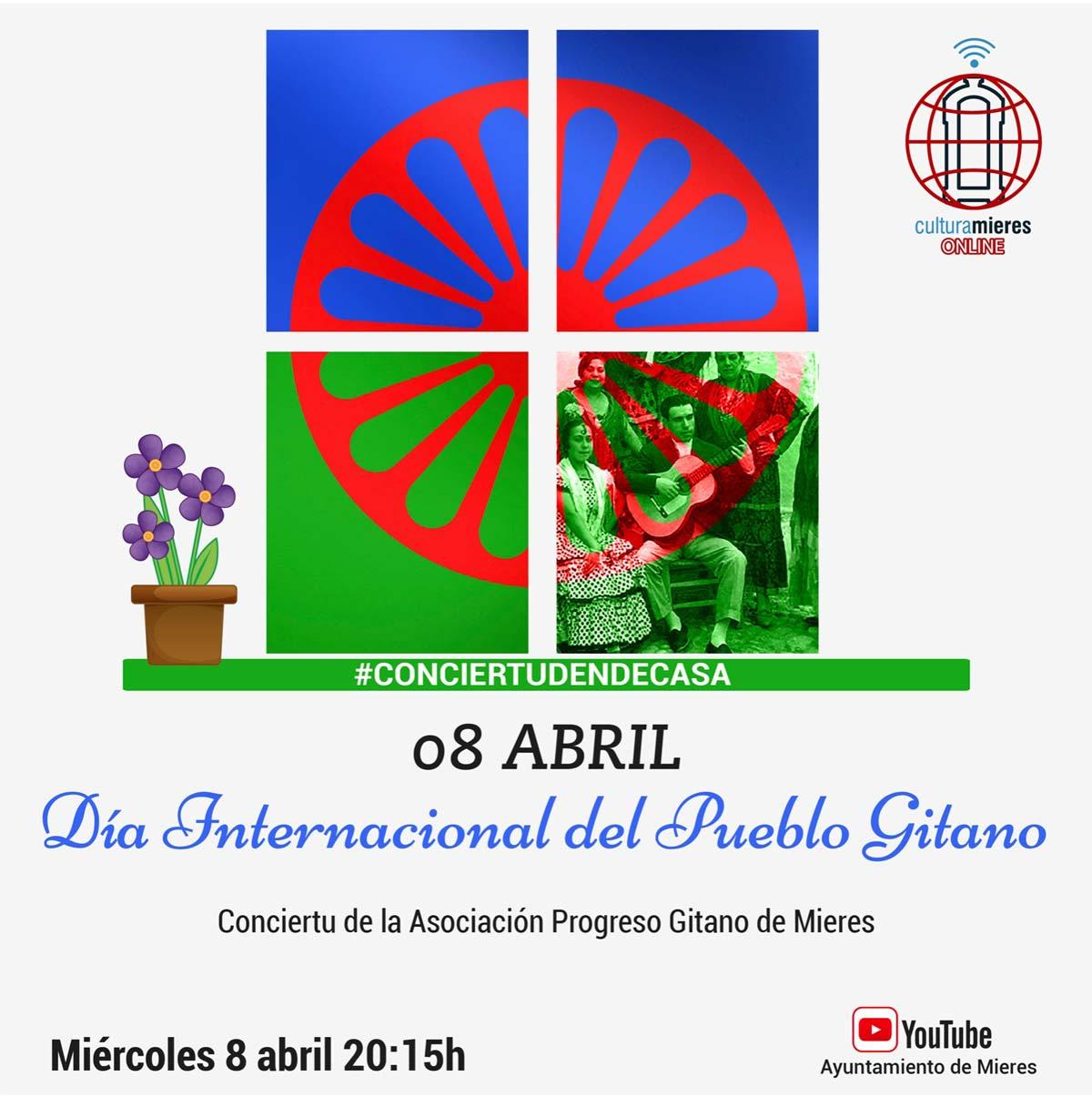 Dia Del Pueblo Gitano 2020 Cartel Web