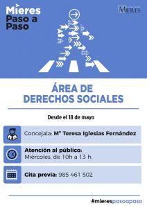 AREA DERECHOS SOCIALES ATENCION DESESCALADA