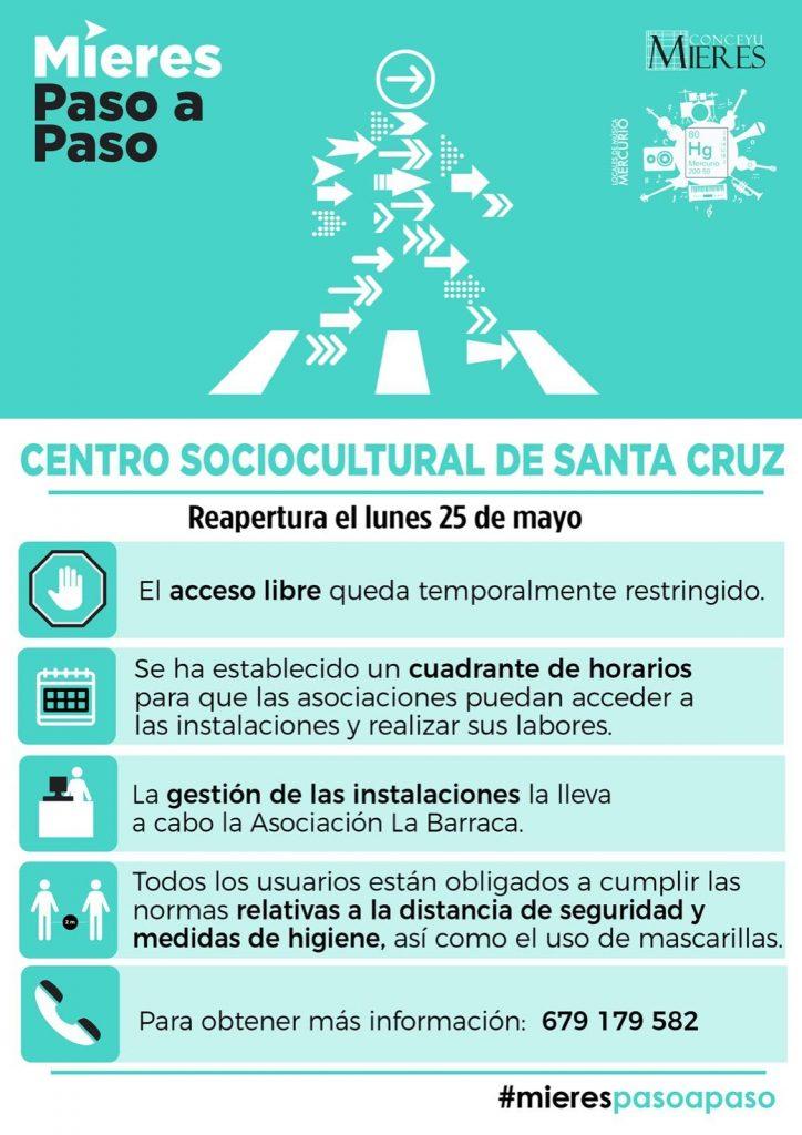Centro Santa Cruz Desescalada Web