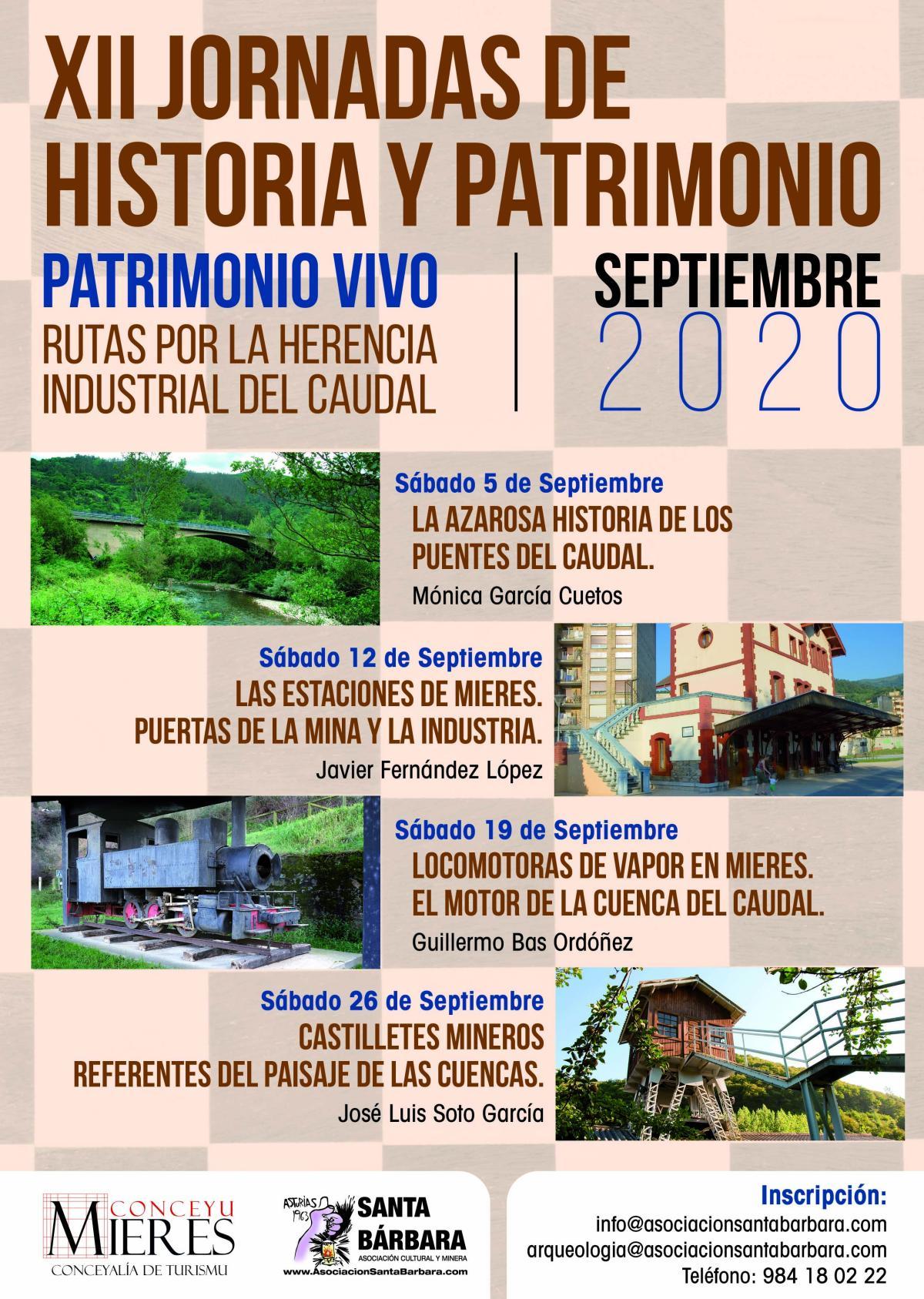 XII Jornadas Historia Y Patrimonio Cartel 2020 Web