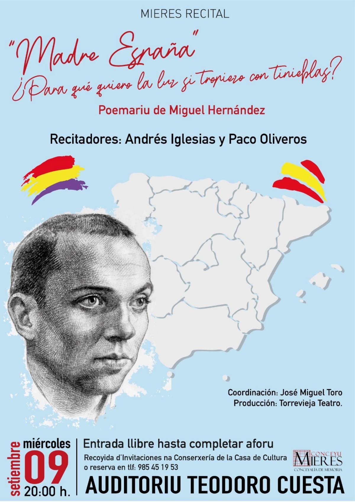Cartel Madre España Web