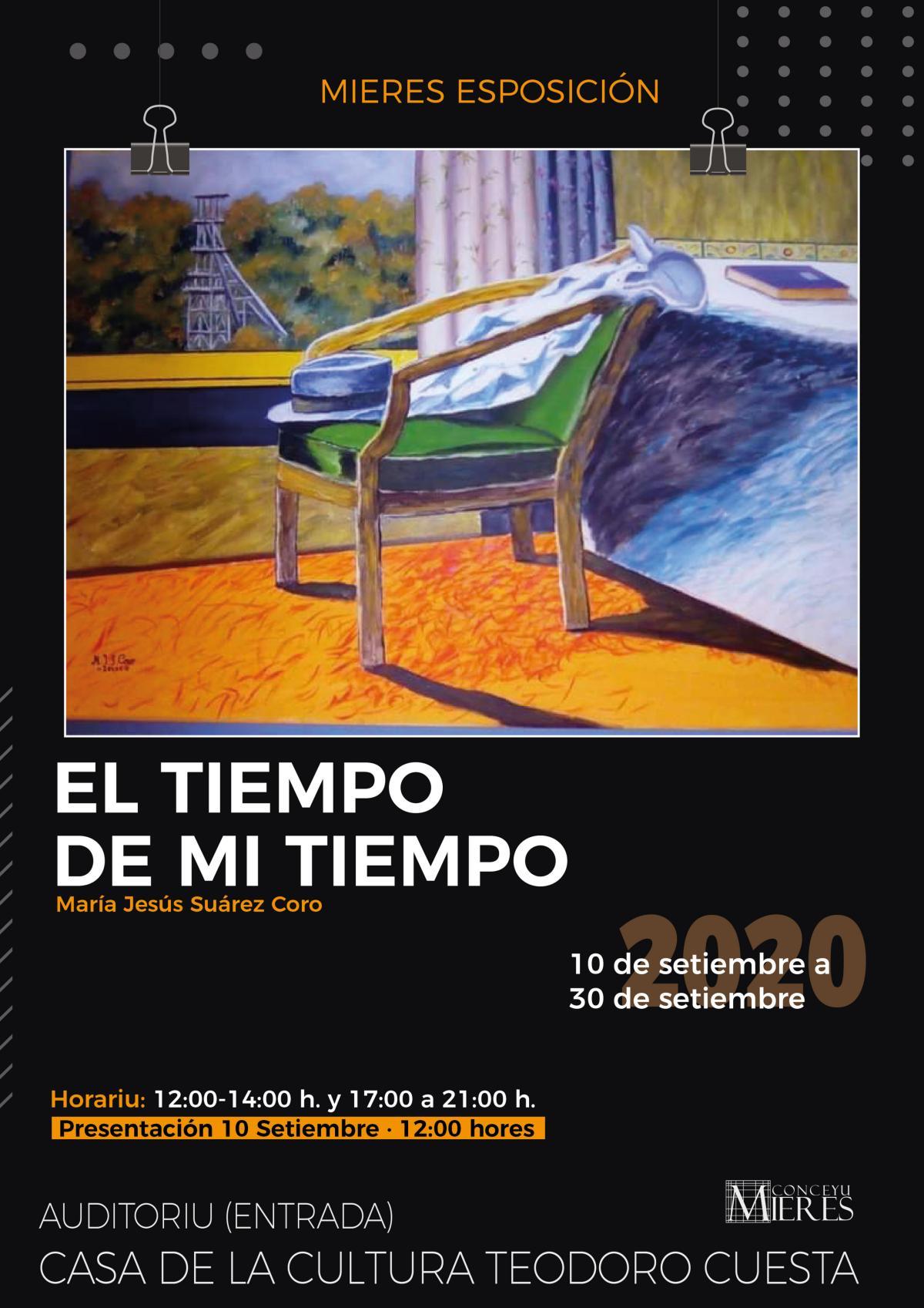 Exposicion El Tiempo De Mi Tiempo Cartel Web