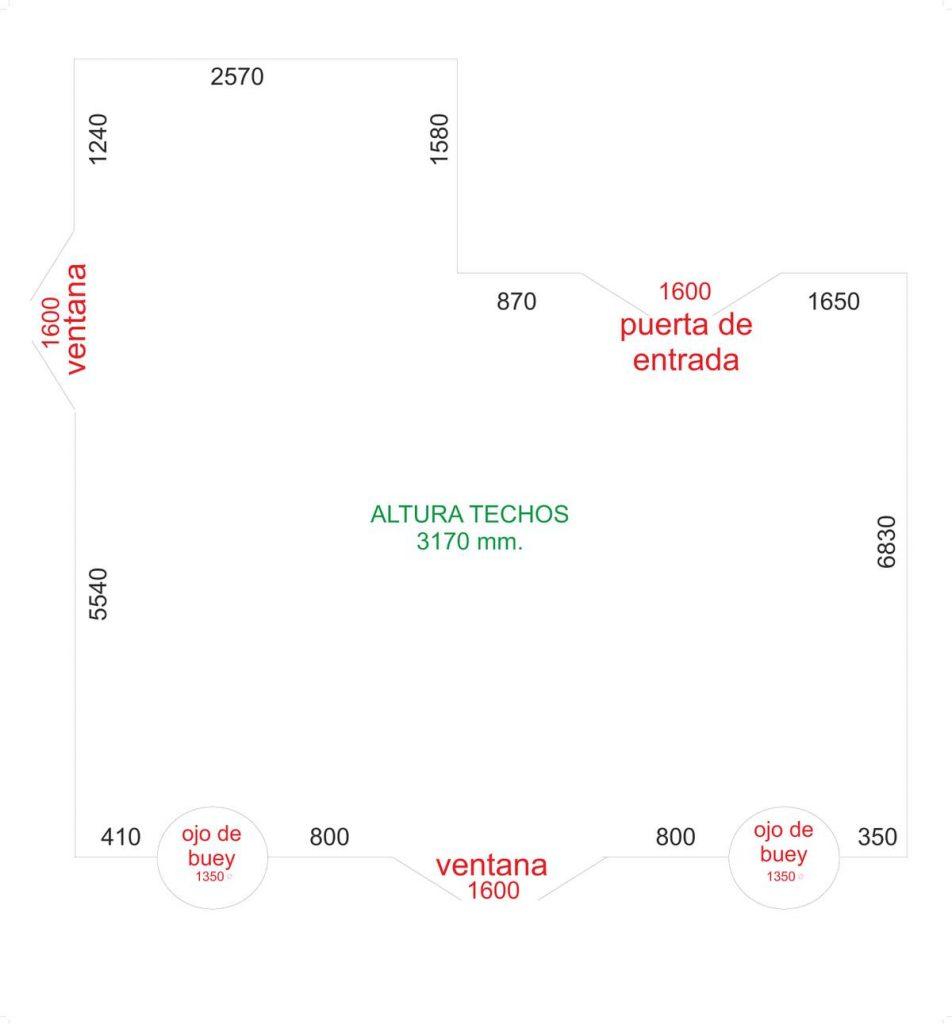 Plano Sala De Exposiciones Ateneo De Turón