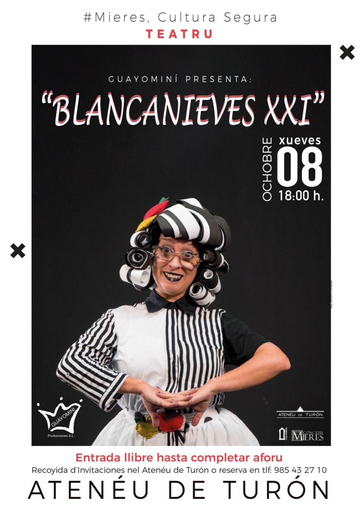 Cartel Web Blancanieves Xxi Turon