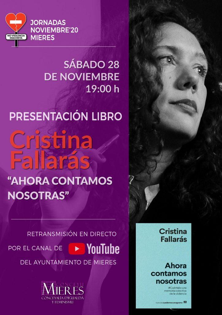 Cartel 25N Cristina Fallaras