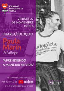 Cartel 25N Paula Marin